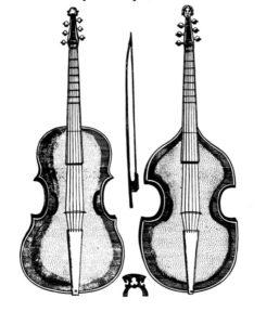 division viol Christopher Simpson outline Gamba - violin form