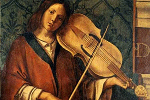 Lyra da braccio renaissance period instrument