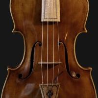 Venetian baroque violin soundhole