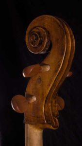Giovanni Francesco Celoniato scroll cello