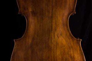 baroque cello willow back