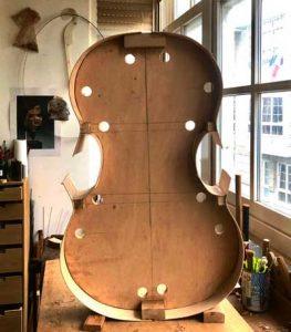 Baroque cello mould Fuessen